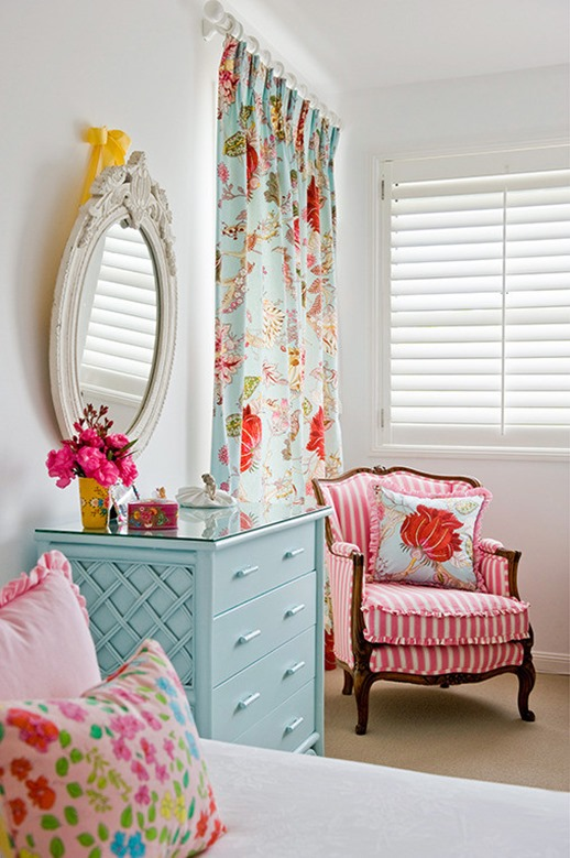 classic furniture in kids room