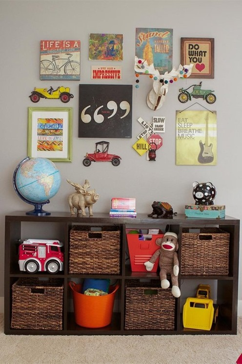 Wall Decor For Guys Room : Design ideas for kid s rooms centsational girl