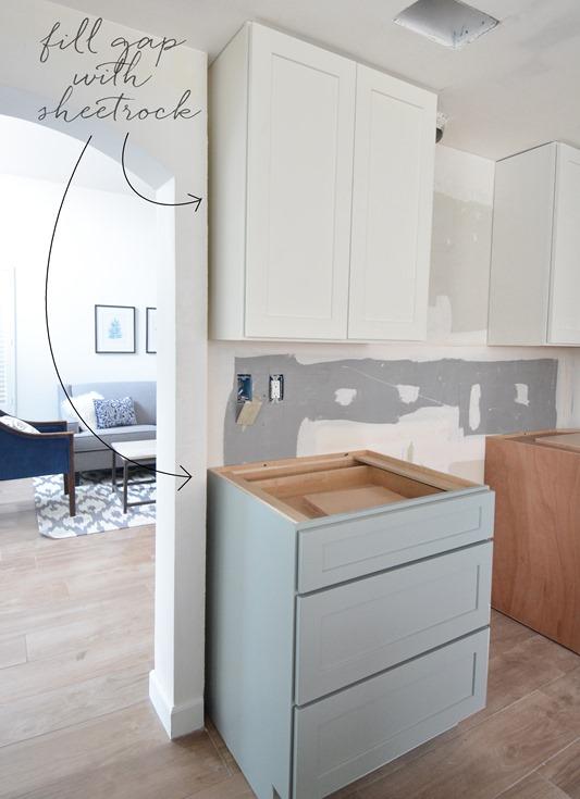 Kitchen Cabinet Installation | Centsational Girl