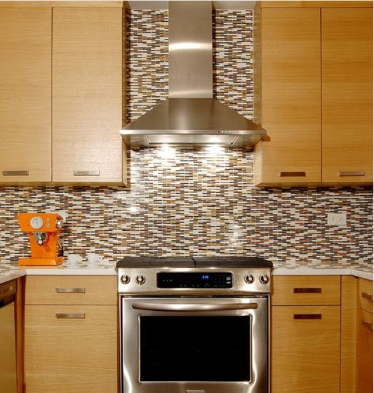 stainless chimney hood