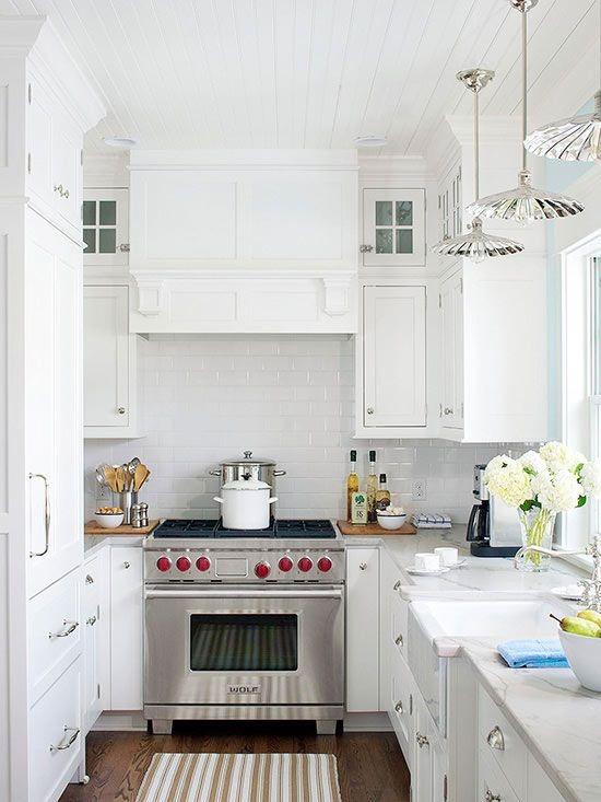 White Range Hood ~ Kitchen range hood options centsational girl