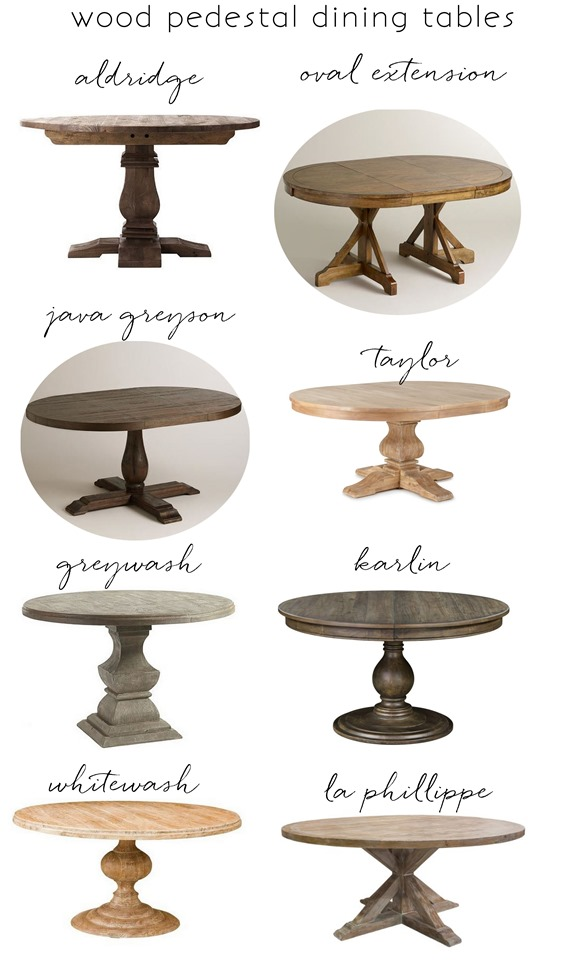 Favorite Wood Pedestal Dining Tables For Your And My Consideration