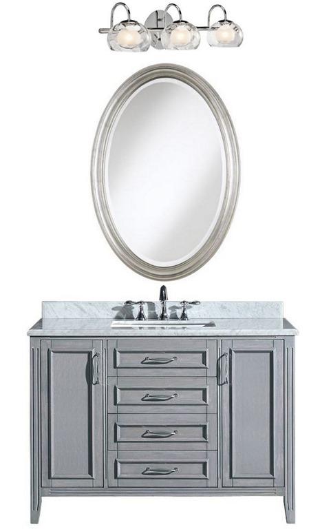Girl Vanity With Lights : Bathroom Vanities with Tops Centsational Girl