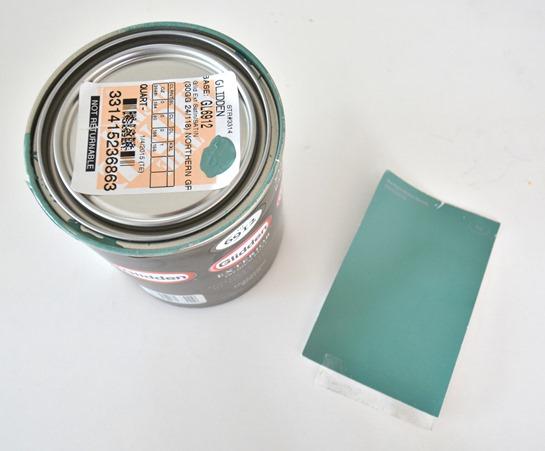 northern green mountain paint