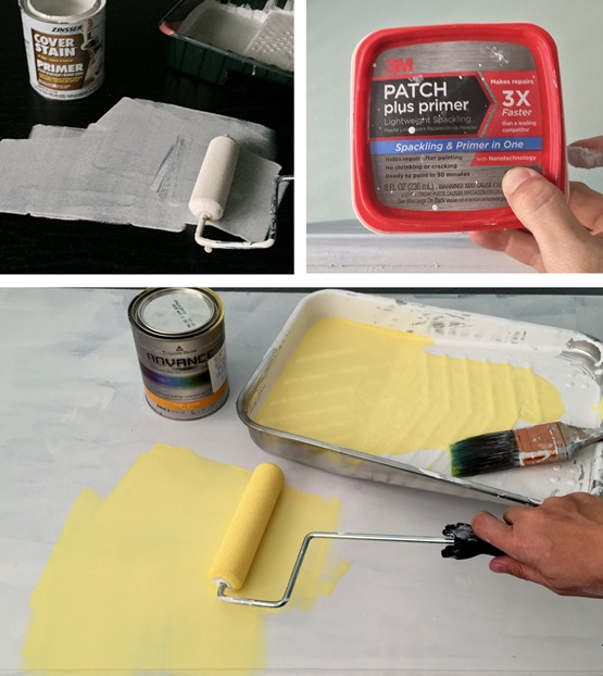 painting furniture steps