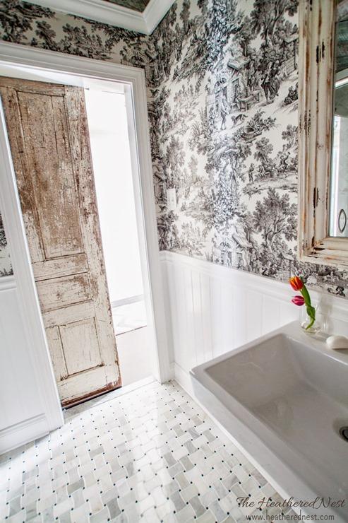 heathered nest bathroom makeover