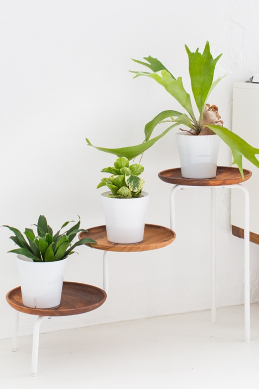ikea hack plant stand