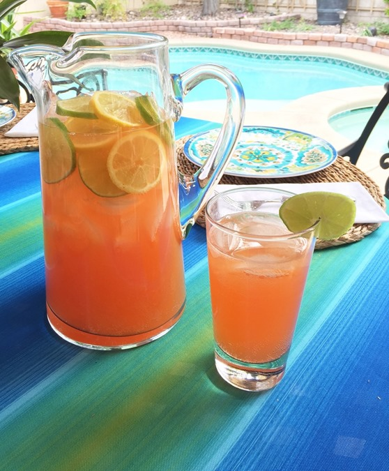 flamingo rum punch