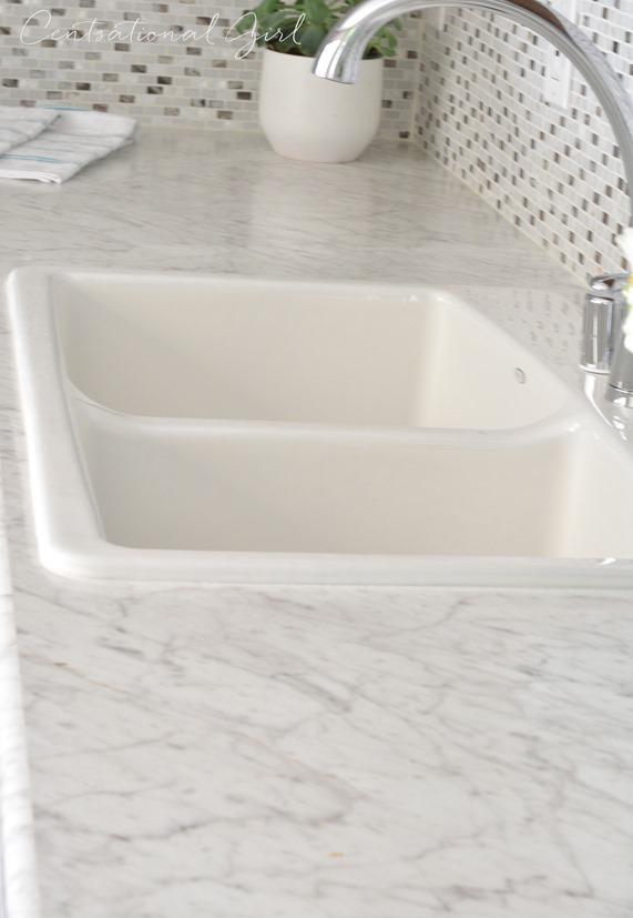 Gray White Kitchen Remodel Centsational Style