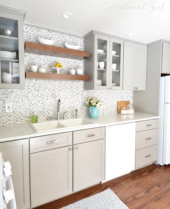 Gray White Kitchen Remodel Decor10 Blog