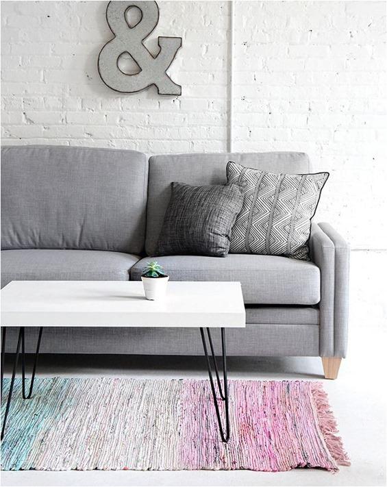 ispydiy dip dyed rug