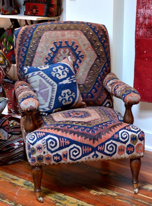 kilim chair 2