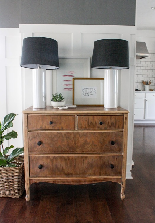 traditional chest modern lamps