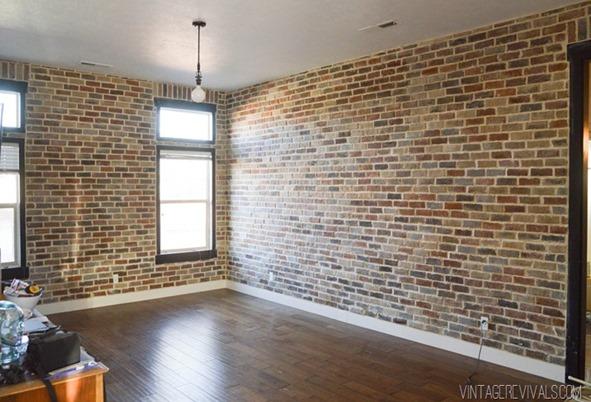Botb 6 centsational girl for Interior brick veneer