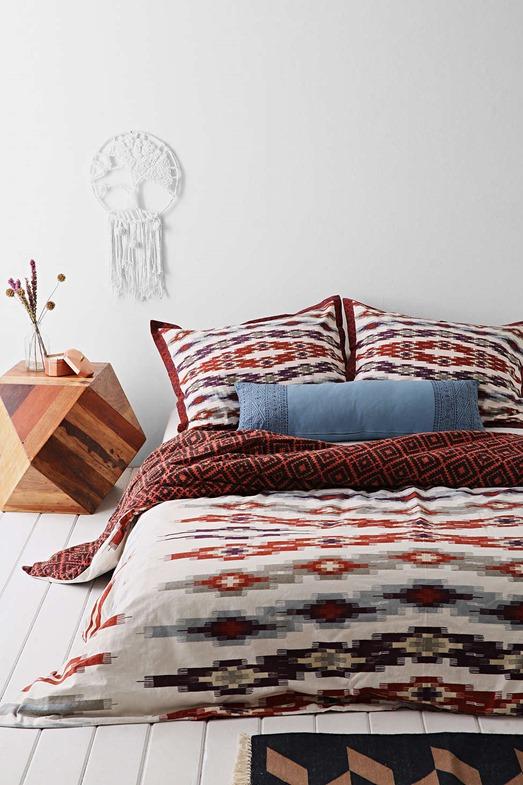 duvet southwest motif