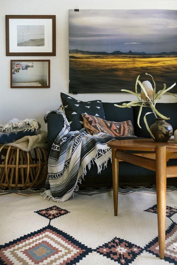 southwest and kilim textiles