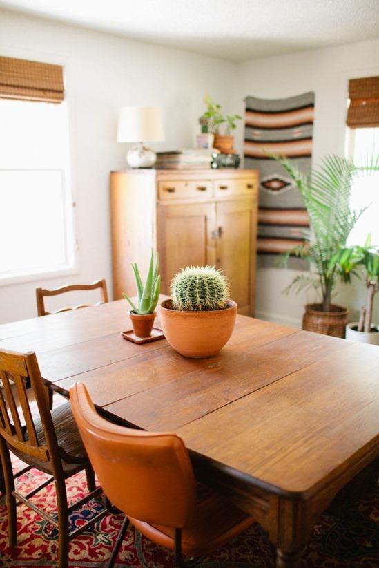 southwest style dining room