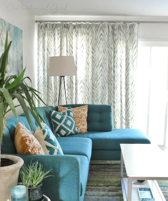 wave drapery window treatment