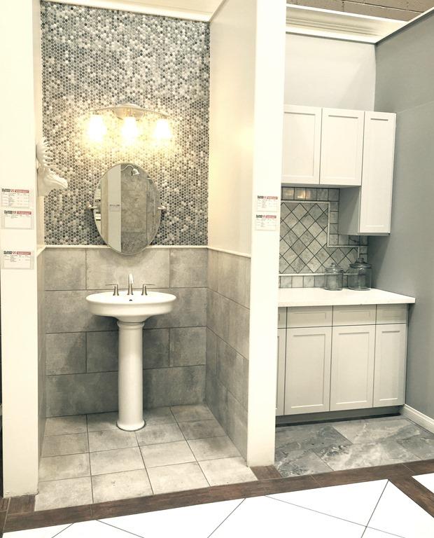 Bathroom Vanities Floor And Decor : Master bathroom vanity makeover centsational girl