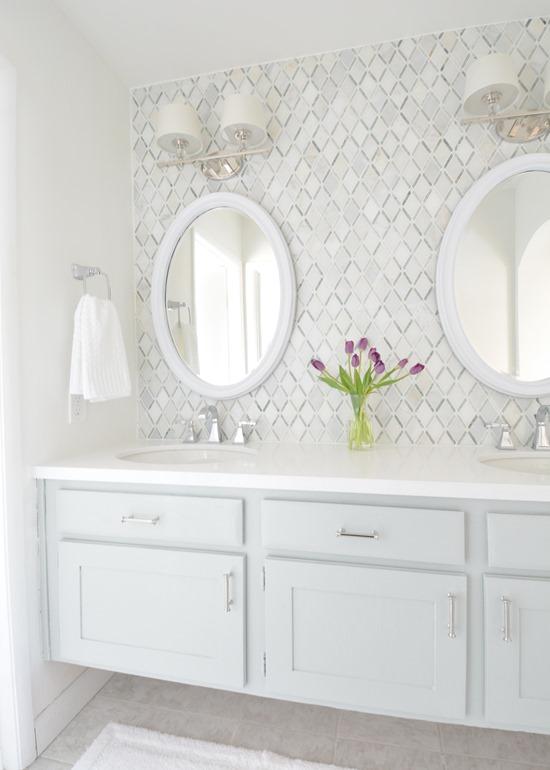 Vanity Lights Masters : Master Bathroom Vanity Makeover Centsational Girl