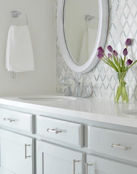vanity mirror countertop