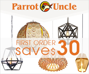 vintage lighting parrot uncle