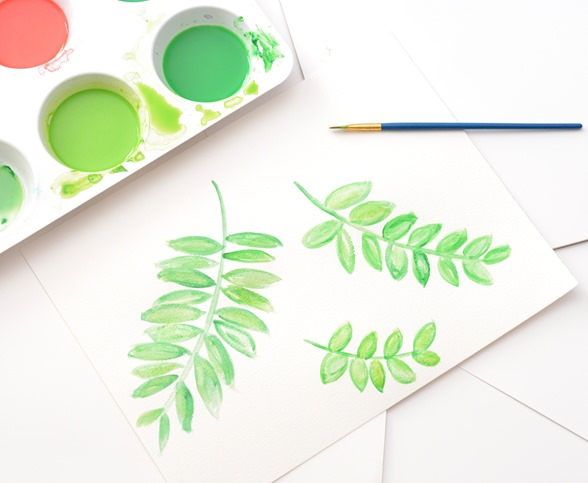 watercolor botanicals