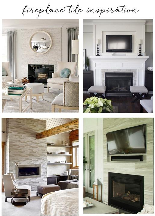fireplace tile inspiration