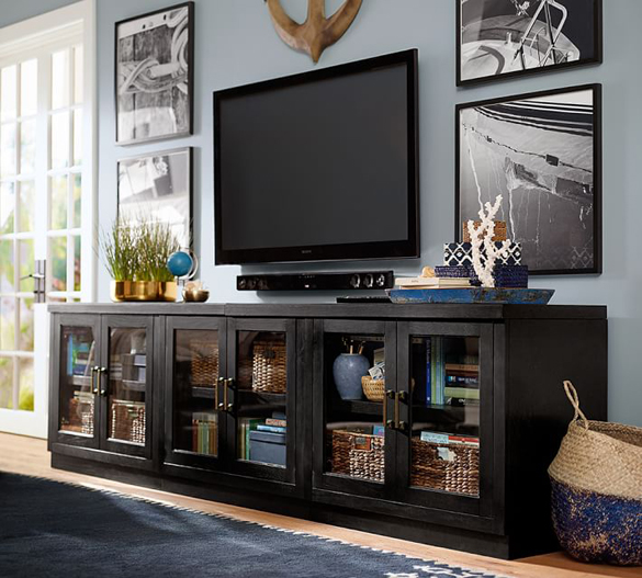 media stand styling centsational style. Black Bedroom Furniture Sets. Home Design Ideas