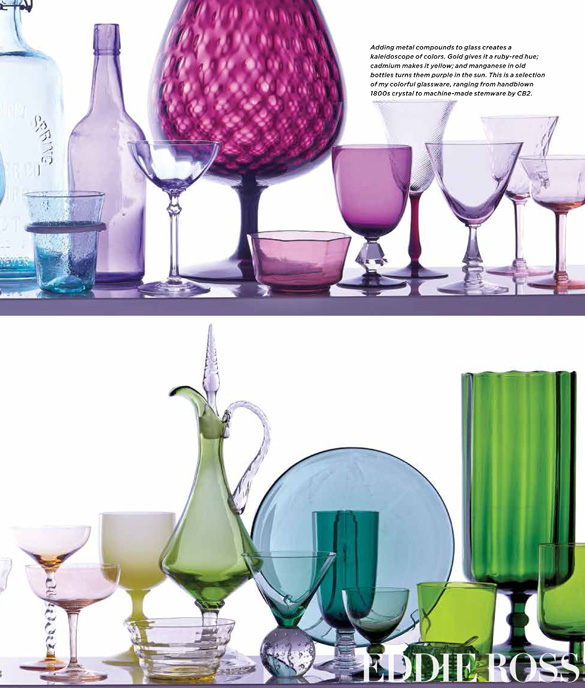 modern mix eddie ross colored glass