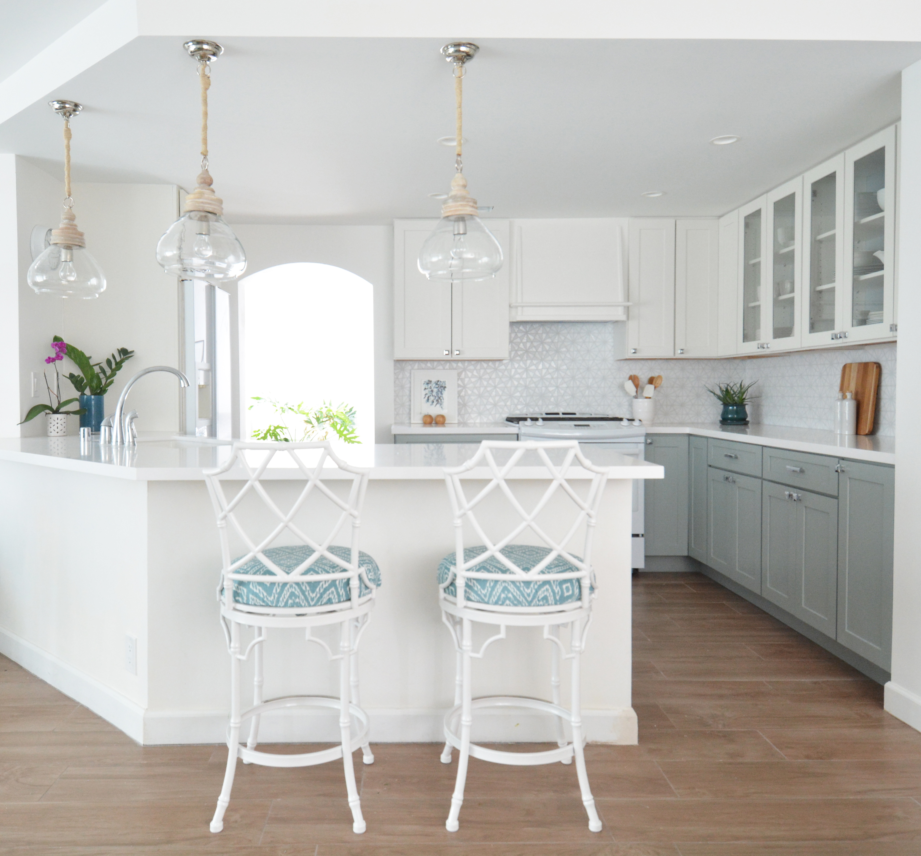 Remodeled Kitchens With White Cabinets: Centsational Style