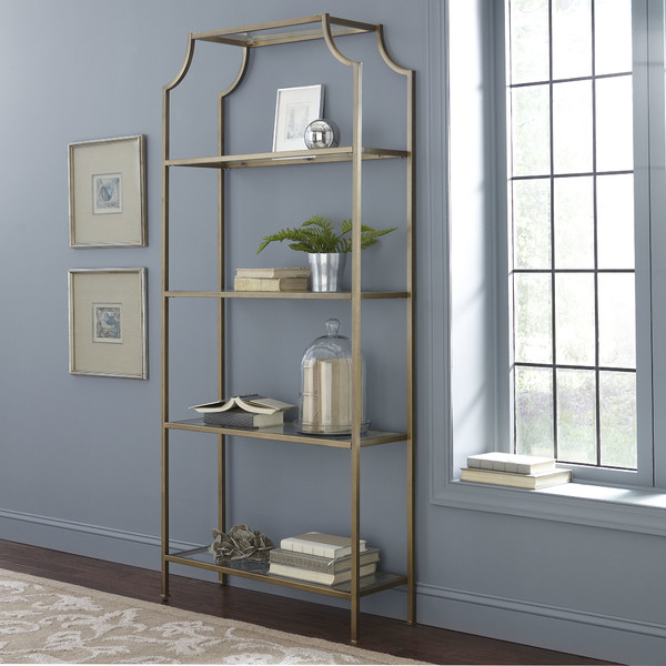 gilded etagere