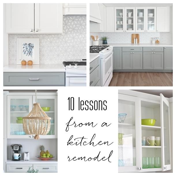 kitchen remodel 10 lessons