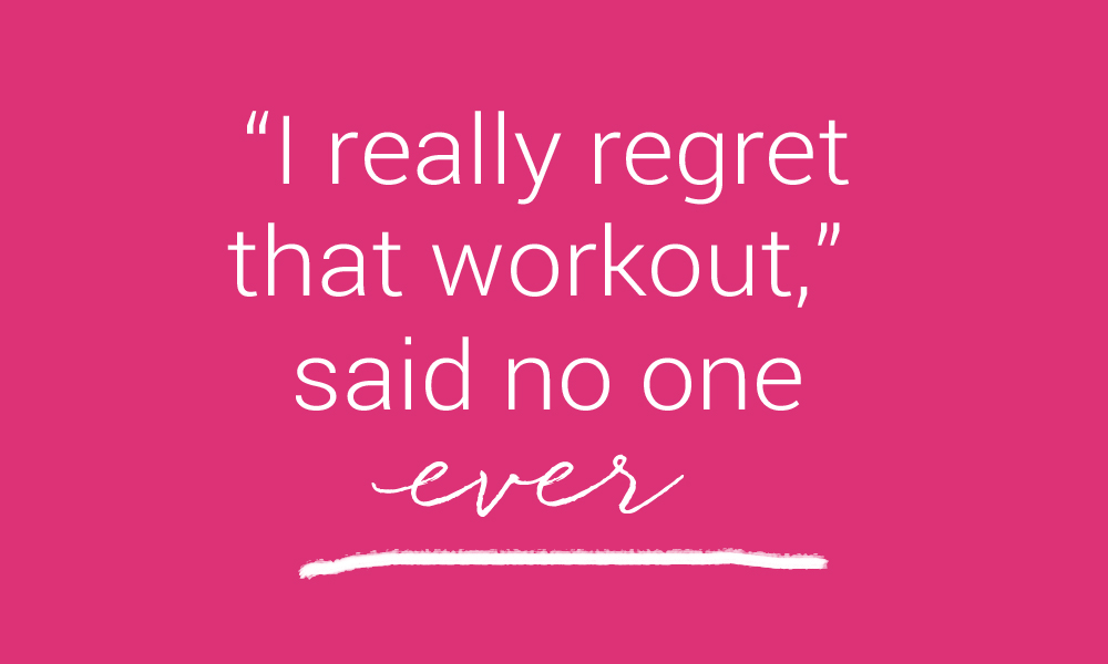 regret workout