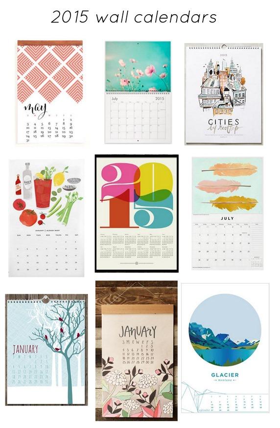 Etsy Art I Heart: 2015 Calendars   Centsational Style