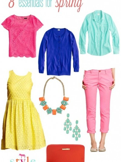 8 essentials for spring fashion