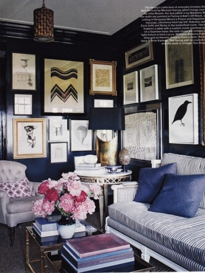 Nate Berkus and Anne Coyle in Elle Decor