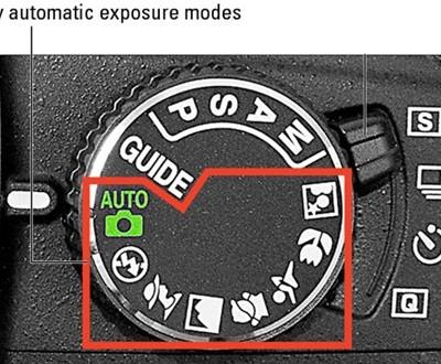 automatic modes nikon