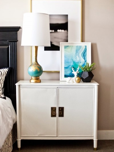 bedside chest styling