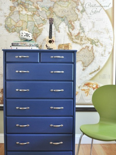 camp collection inspired blue dresser cg