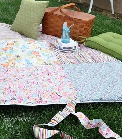 cg picnic blanket