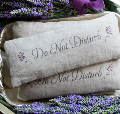cg do not disturb pillows