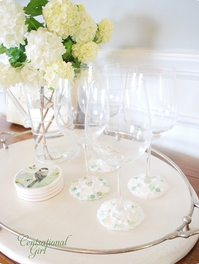 cg jeweled stemware
