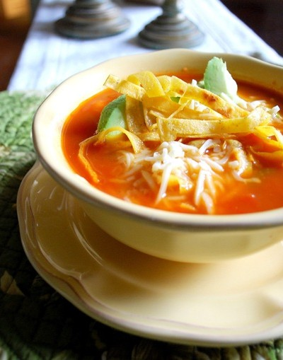 chicken tortilla soup crop