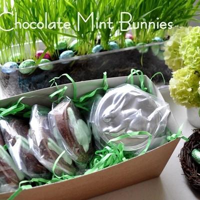chocolate mint bunnies