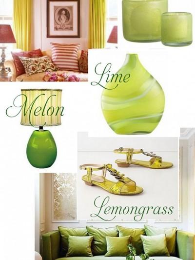 citron melon lime collage