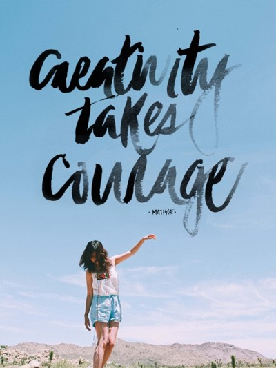 creativity takes courage matisse