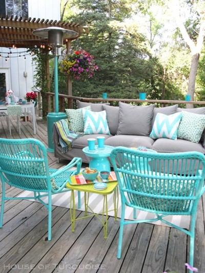 deck makeover house of turquoise