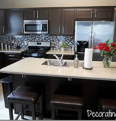 decorating cents kitchen via cassity