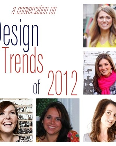 design trends of 2012